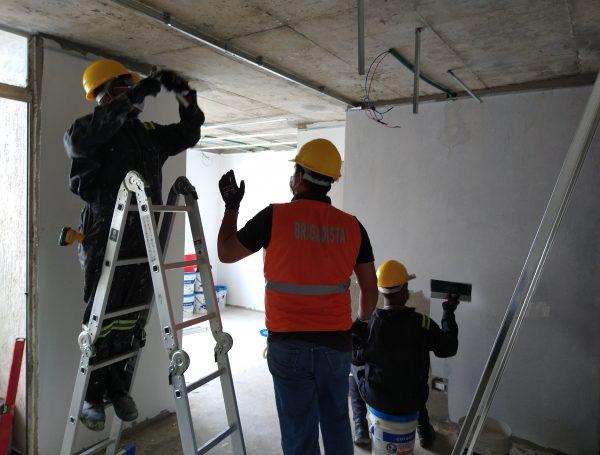 Proyecto: Remodelación de interiores.