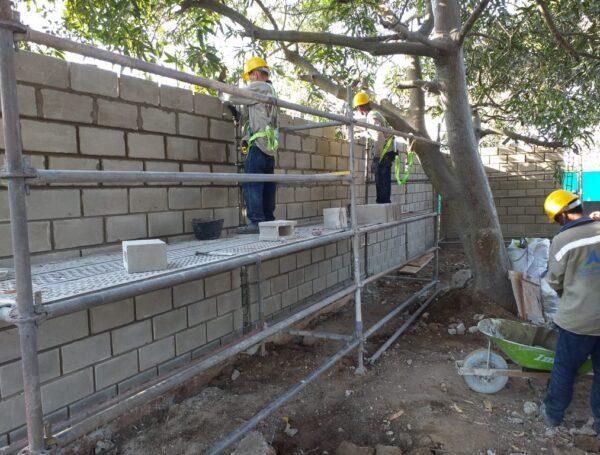 Proyecto: Cerramiento de muro